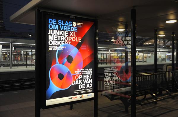 Vrede van Utrecht eventposters 2013